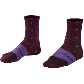 Bontrager Race Quarter Socks Men mulberry